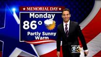 Justin's Memorial Day Forecast: May 24, 2015